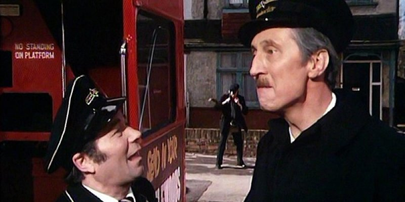 On the Buses tv sitcom episodes guide on Comedy Series Info
