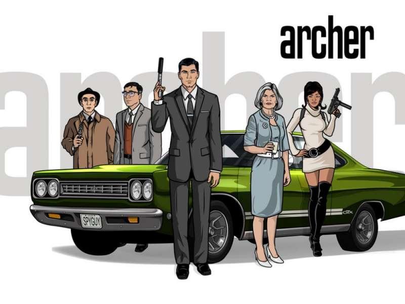 Archer tv comedy series American Comedy Series