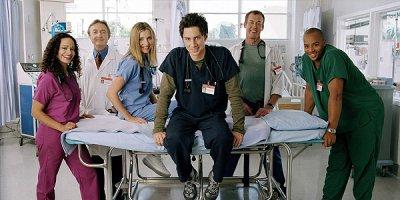 Scrubs tv sitcom American Comedy Series
